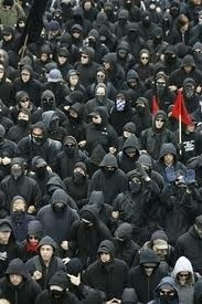 Black bloc successo del marketing