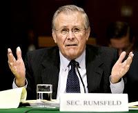 """La frase del giorno: «Tutte le generalizzazioni sono false, inclusa questa», il due volte Segretario alla Difesa Usa Donald Rumsfeld, in """"The Unknown Known"""", la lunga intervista - documentario di Errol Morris."""