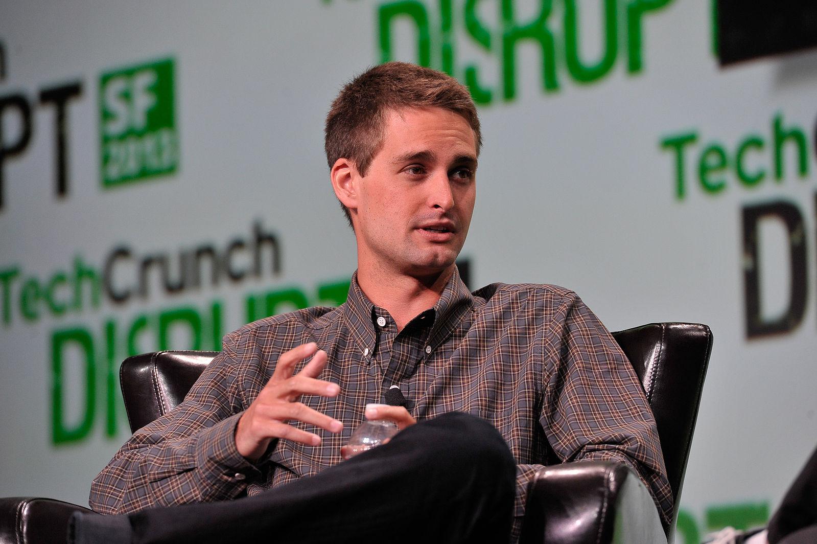 Evan_Spiegel_at_TechCrunch